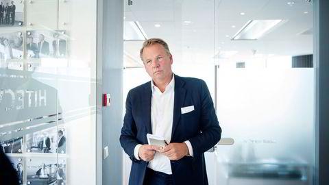 Toppsjef Ole Ertvaag i Hitecvision har gjort en av sine beste investeringer noensinne. Tre milliarder kroner tjener selskapet på salget av eiendomsselskapet Asset Buyout Partners.