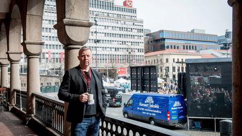 Frode Alfheim, forbundsleder for fagforbundet Industri Energi.