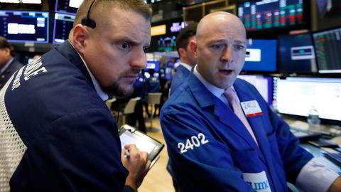 Oppsiktsvekkende høye inflasjonstall får aksje-traderne på Wall Street til å skjelve.