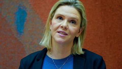 Frp-nestleder Sylvi Listhaug vil gjøre fergereiser i Norge gratis.