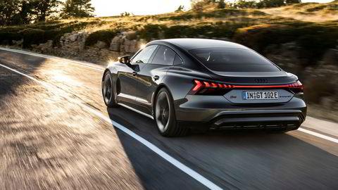 Audi E-tron GT kommer snart i salg.