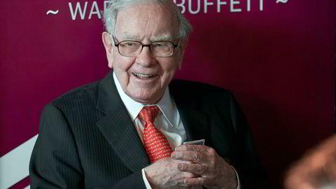Berkshire Hathaway-sjef Warren Buffett.