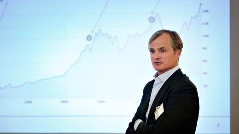 Den erfarne investoren Øystein Stray Spetalen snakker om sitt syn på aksjemarkedet. Bildet er fra en annen anledning.