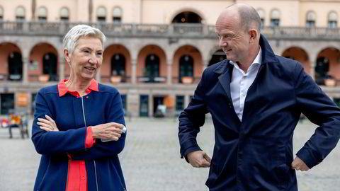 LO-sjef Peggy Hessen Følsvik og NHO-sjef Ole Erik Almlid har samlet Norges viktigste industriaktører bak en ny energipolitisk plattform.