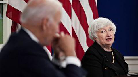 USAs finansminister, og tidligere sentralbanksjef, Janet Yellen, er bekymret for den finansielle risikoen fremveksten av private digitale valutaer kan skape.