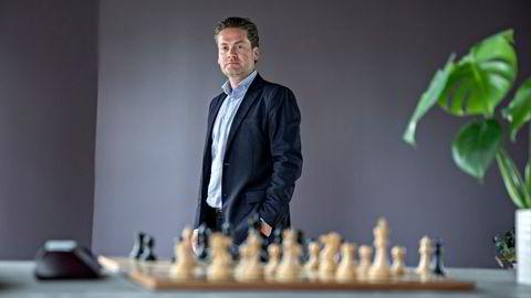 Kahoot-sjef Eilert Hanoa i selskapets lokaler like ved Oslo rådhus.