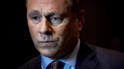 Stemmer mot General Electric-sjefens bonusfest: Oljefond-leder Nicolai Tangen.