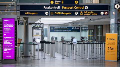 Hvor lenge vil aktiviteten på Oslo lufthavn Gardermoen være under normalen? Alltid?