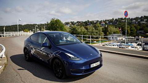 Det ble registrert mer enn 3500 Tesla Model Y i september.