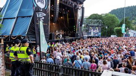 Kongsberg Jazzfestival, fra før koronaen kom.