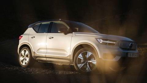 Volvo XC40 er merkets første elektriske bil, og bidro til solide tall i februar.