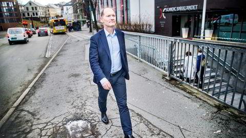 Managing partner Erik Hagen i Viking Venture har fått brev av Finanstilsynet. Her avbildet i Trondheim ved en tidligere anledning.