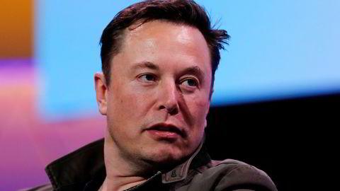 – Jeg vet at jeg noen ganger sier eller legger ut rare ting, men det er akkurat slik hjernen min fungerer, sa Elon Musk om egen Twitter-konto.