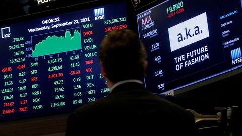 Aksjemarkedet i USA ble, som flere andre markeder rundt om i verden, rammet av Evergrande-frykt tidligere i uken. Nå er stemningen snudd.