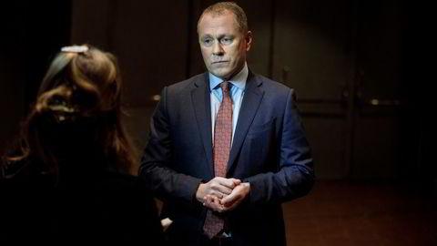  Nicolai Tangen leder Oljefondet.