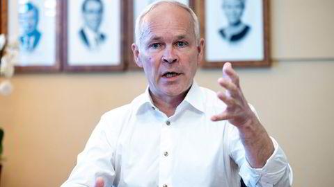 Finansminister Jan Tore Sanner forteller om et nytt skatteutvalg regjeringen setter ned.