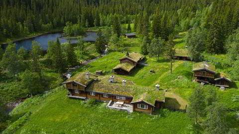 Et lite stykke Norge for 20 millioner kroner. Melsombu i Telemark.