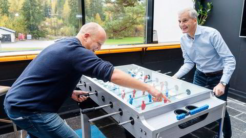 DNs lesere tror Jonas Gahr Støre blir statsminister, mens statsministerkandidat Trygve Slagsvold Vedum blir kommunalminister.