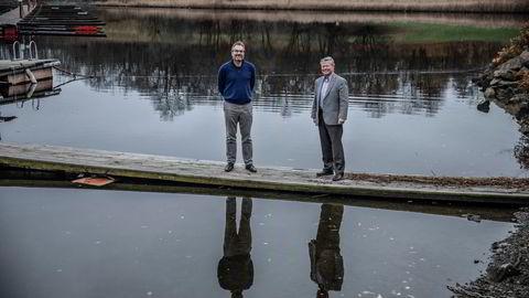 Havvind-gründer Harald Dirdal har flere tiår bak seg i bransjen og har satt sammen et konsortium med Norgesgruppen og den tyske energigiganten ENBW. Nå håper Dirdal og Torbjørn Johannson i Norgesgruppen å få tilslaget når tildelingene av havvind begynner.