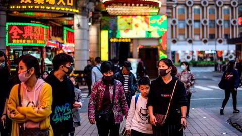 Kasinoene i Macau dro inn inntekter som var seks ganger høyere enn Las Vegas før koronapandemien slå inn i 2020. Nå ønsker kinesiske myndigheter økt kontroll.