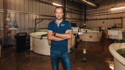 Johan E. Andreassen er største eier i Atlantic Sapphire, som for tiden bygger ut verdens største landbaserte lakseanlegg til å bli enda større.