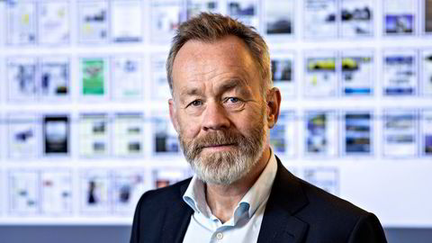 Sjefredaktør og administrerende direktør i Dagens Næringsliv Amund Djuve