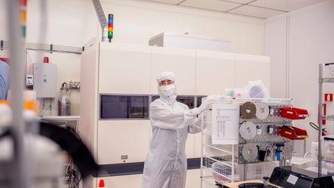 På Sintef MiNaLab i Oslo foregår Norges fremste forskning og utvikling innen mikrosystemer og nanoteknologi.