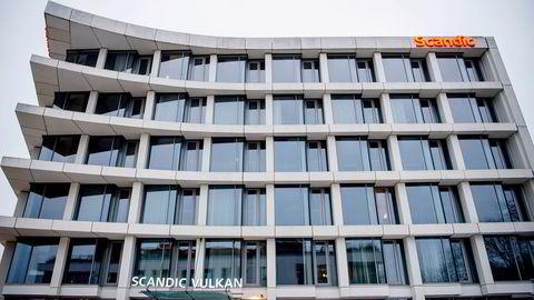 Scandic-kjeden sier opp over 300 ansatte. Her fra Scandic Vulkan i Oslo.