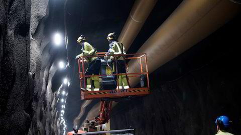 Det er i de tidlige fasene av et prosjekt de viktigste premissene for risikohåndtering, ressurseffektivitet og digitalisering blir lagt. Her fra arbeid i tunnelene til Follobanen.