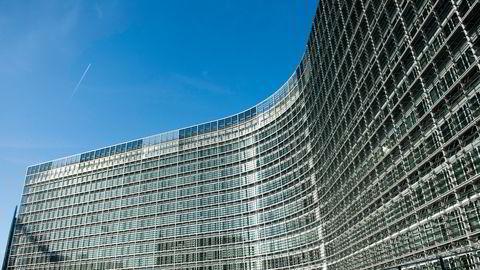 Sammen med drømmepartnerne sine, SV og Rødt, vil MDG åpne for en tsunami av nei og niks i Brussel, skriver Jens Frølich Holte. Bildet: Europakommisjonens hovedsete i Brussel.
