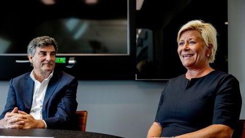 Administrerende direktør Jan Bodd i Scandza får med seg Siv Jensen som styreleder før børsnotering.