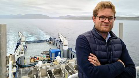Nils Thommessen er sjømatanalytiker i Fearnley.