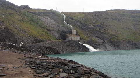 Bitcoin-utvinning er ei støtteordning for utbygging av fornybar energi som elles ikkje ville vore lønsam, eller som ville vore stranda grunna svakt straumnett, skriv Sturle Sunde. Her småkraftverk i regi av Nordkraft i Tysfjord i Nordland.