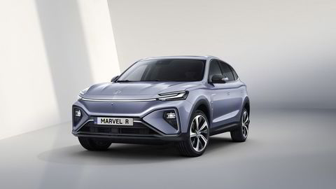 MG lanserer to nye elbiler. Dette er suven Marvel R Electric.