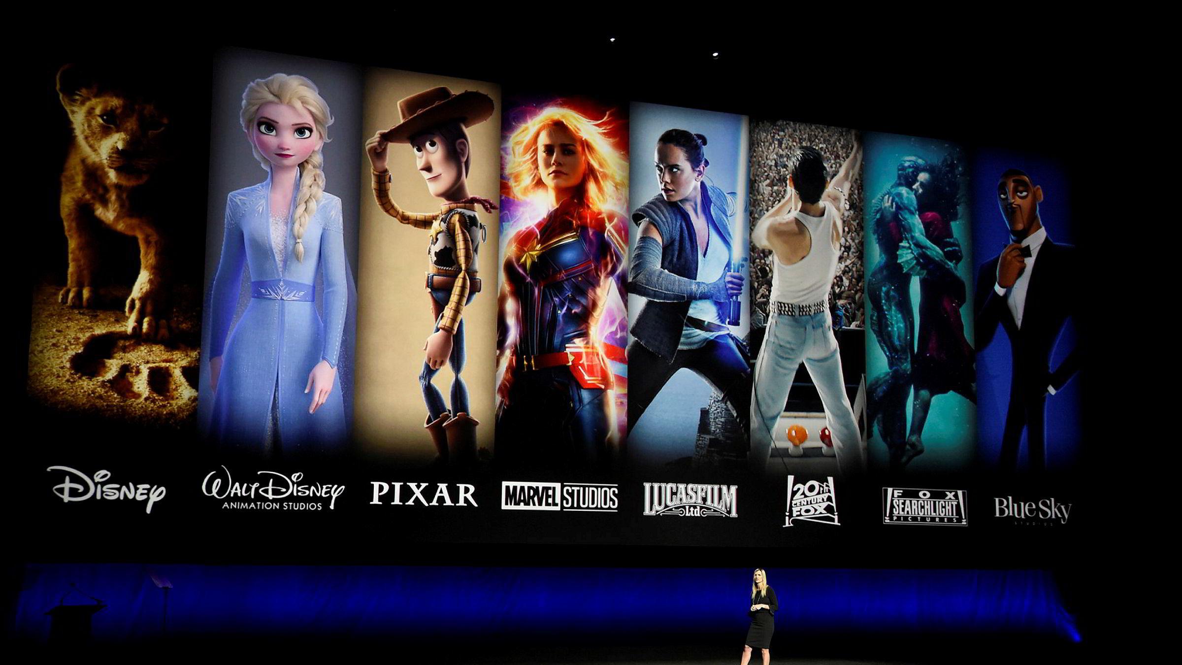I dag kunne brukere i USA, Nederland og Canada ta i bruk Disney +, Disneys strømmetjeneste.