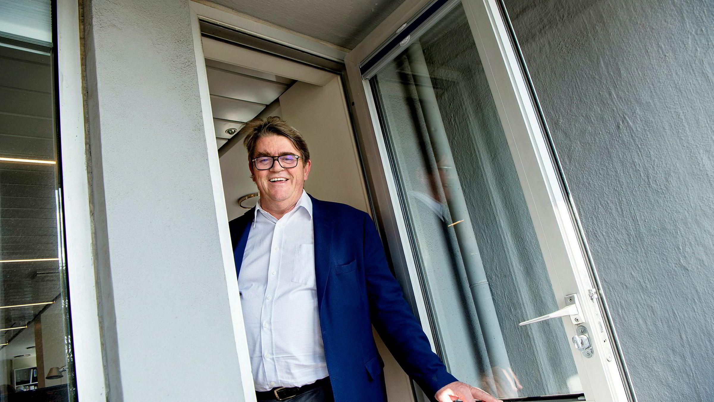 Forvalter Jan P. Sissener er glad for at Norwegian henter mer penger.