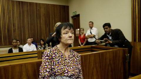 Danske Britta Nielsen, her fra retten i Johannesburg i november 2018.