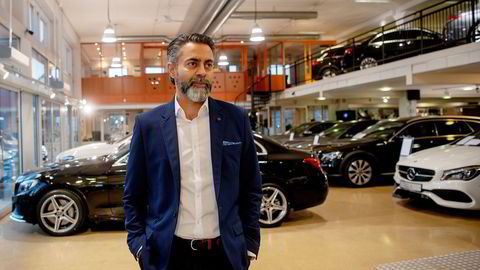 Zahid Saddiq er daglig leder i Star Autoco. Her avbildet ved en annen anledning.