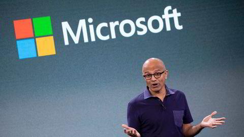Satya Nadella har vært toppsjef i Microsoft siden 2014.
