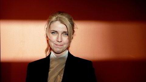 Sjefredaktør Alexandra Beverfjord i Dagbladet. Dagbladets resultat falt i fjor.