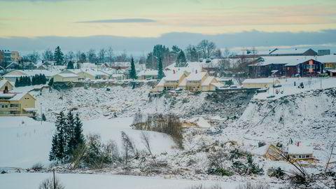 Natt til 30. desember tok et stort kvikkleireskred med seg flere hus fra boligfeltet Nystulia på Ask i Gjerdrum.