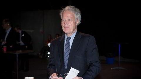 Jan Petter Collier og hans to barn er tungt inne i flere selskaper på Oslo Børs. Her fra Finansnæringens dag i 2017.