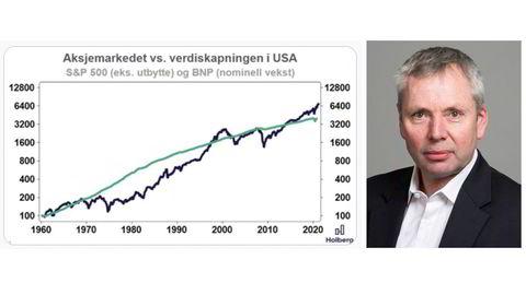 Holberg-forvalter Gunnar J. Torgersen presenterer jevnlig nye grafer på Twitter-profilen @Holberggrafen.