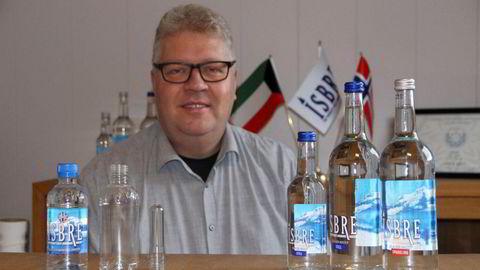 – Det er mange ting som har gått feil vei, som vi gjennom 2020 har tatt tak i, sier daglig leder Jarand Rønjom i Isbre Water.