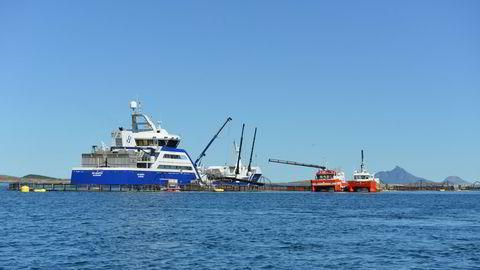Forsøkene ved Lovundlaks' anlegg skal fremskaffe ny kunnskap omhvordan villfisk kan fanges når den oppholder seg nært oppdrettsanlegg, skriver artikkelforfatterne.