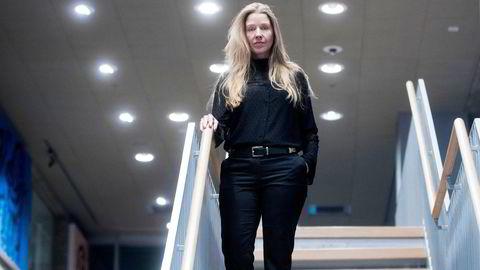Porteføljeforvalter Anette Hjertø i DNB Asset Management tror liten kunnskap og fordommer skremmer bort kvinner fra å søke seg til finansbransjen.