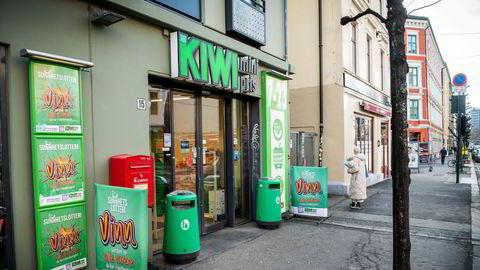 Norgesgruppens Kiwi-kjede opplevde en enorm vekst under pandemien.