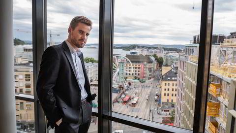 Axel Dammann, her fotografert i forbindelse med rettssaken i 2018.