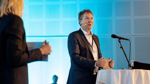 Kjetil Hove, Equinors sjef for norsk sokkel, produserer gass det remmer og tøy kan holde.