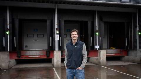 Gustav Jebsen og selskapet 360 Logistics, som nå skal inn i det nye e-handelshuset på Økern, håndterer vareflyten til flere nettbutikker.